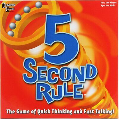 AU32.99 • Buy U Games 5 Second Rule Game
