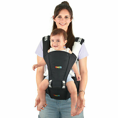 Baby Carrier Back Pack Hip Seat Carrier Ergonomic 4 In 1 Front Facing • 24.99£