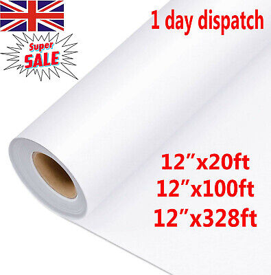 100M Clear Vinyl Application Tape For Car Wall Craft Art Decal Transfer Paper UK • 15.99£