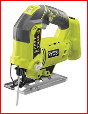 Ryobi R18JS-0 ONE+ Jigsaw With LED, 18 V Body Only - Green/Grey • 172.95£