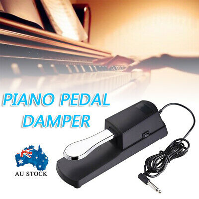 AU20.85 • Buy Piano Damper Sustain Pedal Foot Switch For Yamaha Casio Roland Keyboard Electric