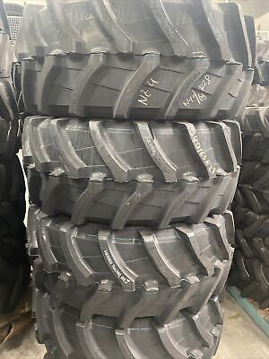 AU1250 • Buy NEW 540/65R28 RADIAL TRACTOR TYRES /8 Year Warranty Tracpro 668