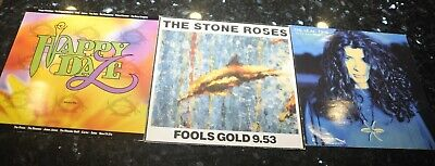 £44 • Buy Stone Roses Fools Gold A1 A22 Indie Rock + Happy Daze Compilation And Lilac Time