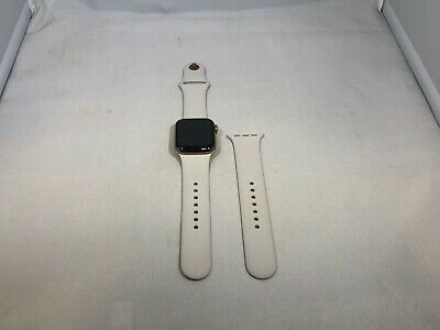 $ CDN360.74 • Buy Apple Watch Series 4 Cellular Gold Stainless Steel Good Cond 40mm W/ Stone Sport