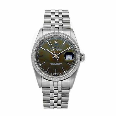 $ CDN7284.47 • Buy Rolex Datejust Auto 36mm Steel Mens Jubilee Bracelet Watch 16220