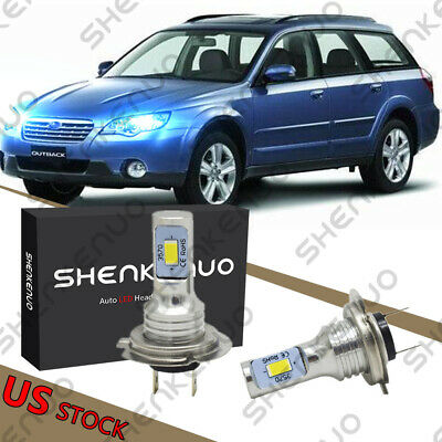 $19.24 • Buy For Subaru Legacy Outback 2005-2014 - 8000K H7 LED Headlight Bulbs LOW BEAM