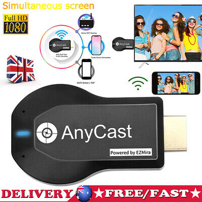 Anycast M2 Plus HDMI TV Stick AirPlay DLNA Wireless WiFi Display Dongle Receiver • 10.43£