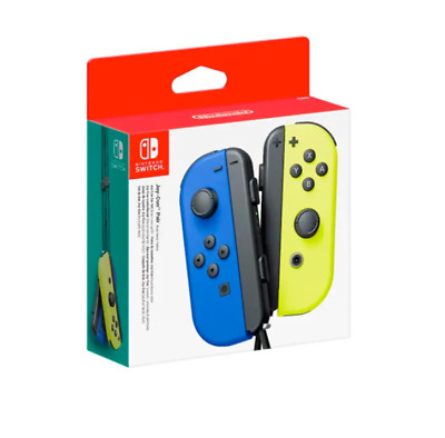 AU99 • Buy Nintendo Switch Joy Con Controller Pair - Blue And Neon Yellow