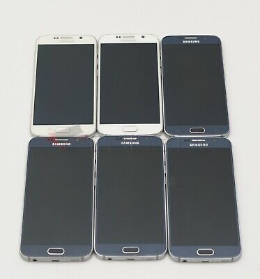 $ CDN710.26 • Buy Lot Of 6 - Samsung Galaxy S6 G920T Unlocked T-Mobile GSM Android Smartphone 32GB