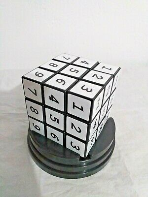 Sudoku Cube Puzzle Game Brain Teaser Adults Kids Childs Game Toys With Case • 6.99£