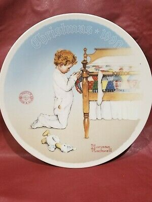 $ CDN41.89 • Buy Norman Rockwell Christmas Plates 1980's And 1990's.