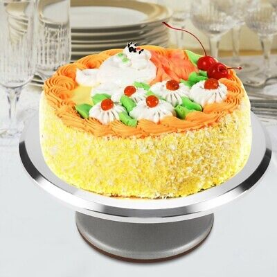 30cm Kitchen Cake Decorating Icing Rotating Revolving Turntable Display Stand • 18.99£