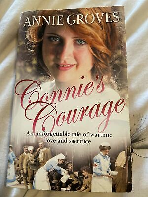 Annie Groves Paperback Book Called Connies Courage • 0.99£