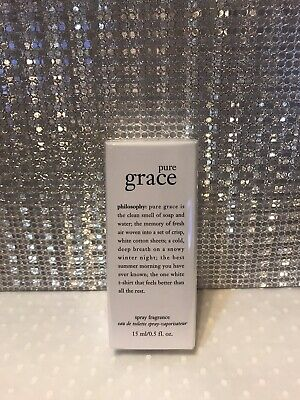 Philosophy Pure Grace Miniature EDT Spray Fragrance 15ml New And Sealed • 14.99£