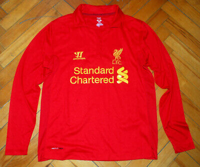 £29.99 • Buy Warrior Liverpool 2012/2013 Long-sleeved Home Shirt (Size S)