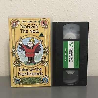 The Saga Of Noggin The Nog - Bbc Vhs Video - Tales Of The Northlands - Childrens • 7.95£