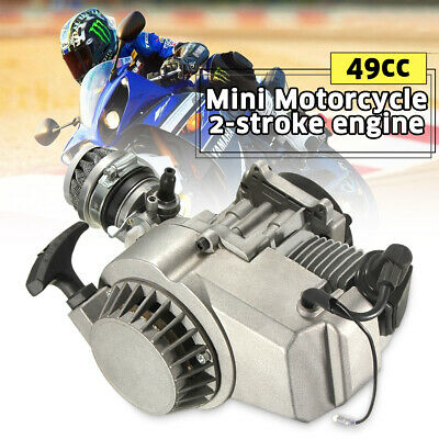 AU66.30 • Buy 49CC 2 Stroke Pull Start Engine MINI Motor Pocket Quad Pit Dirt Bike ATV  ''