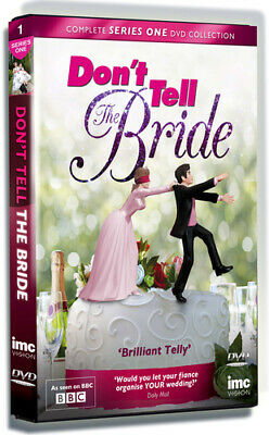 Don't Tell The Bride: Series 1 DVD (2013) Ruth Jones Cert E 2 Discs Great Value • 2.50£