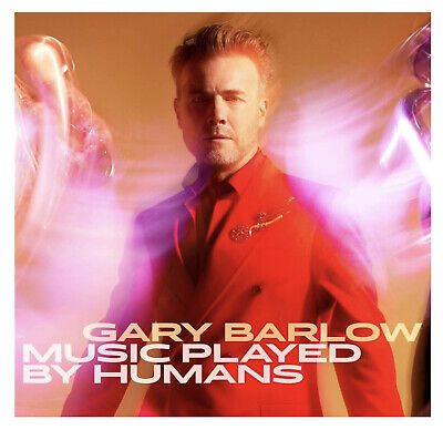 GARY BARLOW MUSIC PLAYED BY HUMANS SIGNED Limited Edition Deluxe CD BookPack NEW • 34.99£