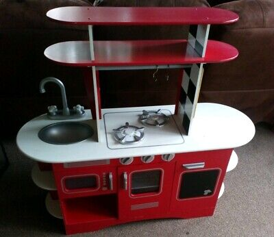 Early Learning Centre Wooden Kitchen And Accessories • 10£