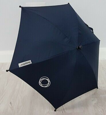 Bugaboo Navy Blue Parasol / Umbrella Fits Donkey Buffalo Bee Cameleon • 24.99£
