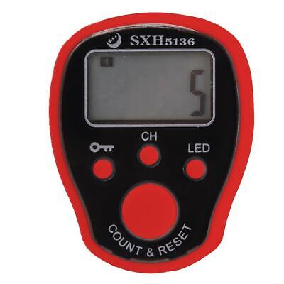 0-99999 Finger Counter LED Night Luminous Electronic Tally Counter (Red) *DC • 4.17£