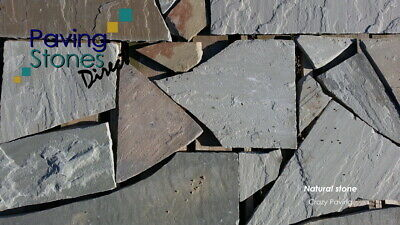 Crazy Paving Patio Paving Mix Colours Clearance  Limited Stock • 125£