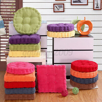 AU18.98 • Buy 40x40cm Indoor Home Dining Office Cushion Soft Corduroy Chair Seat Thicker Pads