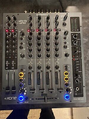 Allen & Heath Xone 92 Black Analogue Mixer Professional Dj Mixer • 749£