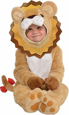 £15 • Buy Amscan 10132315 Baby Lion Costume With Detachable Hoodie-Age 12-24 Months-1 PC