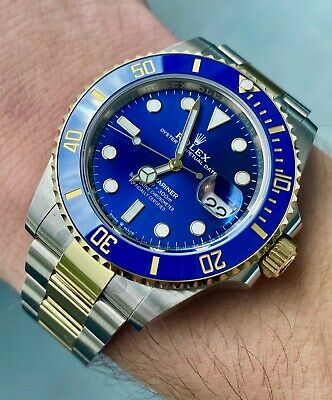 $ CDN23982.43 • Buy *NEW* Rolex Submariner 41mm 126613 Blue W/ Box & Papers
