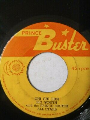 Big Youth And The Prince Buster All Stars ‎– Chi Chi Run - 7  Vinyl Single  • 7.23£