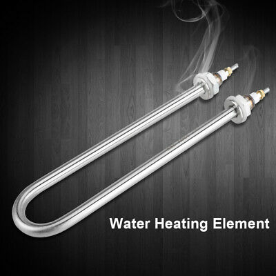 2000W 220V Immersion Water Heater Electric Tube Heating Element Stainless Steel • 8.88£