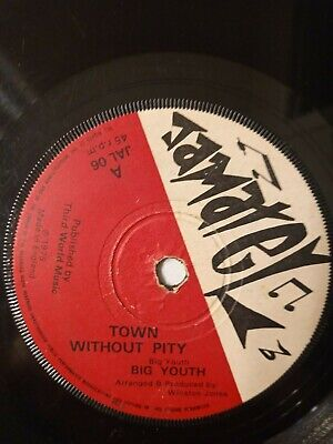 Big Youth / Prince Jazzbo ‎– Town Without Pity / Sin & Shame - 7  Vinyl Single • 8.68£