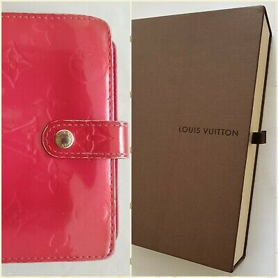 AU199 • Buy Auth Louis Vuitton Vernis Leather Bifold Wallet LV With Gift Box