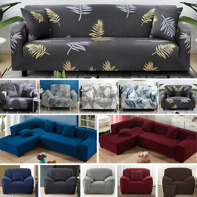 AU15.99 • Buy Stretch Sofa Cover Couch Lounge Recliner Chair Slipcover Protector 1-4 Seater