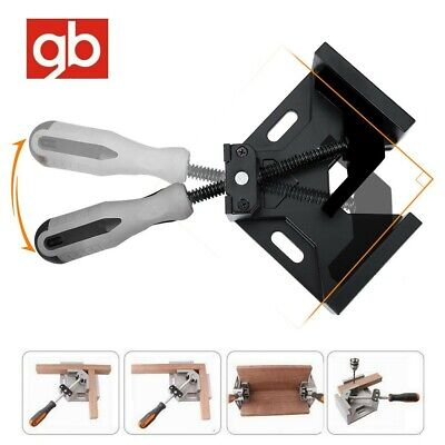 90° Degree Corner Clamp Right Angle Clamps Woodworking Vice Wood Metal Weld Jig • 9.99£