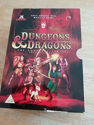Dungeons And Dragons -  (DVD, 2004, Animated, Box Set) 3 DVDs  • 3£