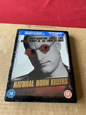 Natural Born Killers Blu Ray Steelbook Limited Edition NEW & SEALED Tarantino • 36£