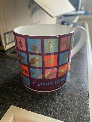 Wedgwood London Summer Olympics 2012 Bone China Mug Two Years To Go Ltd Edition • 0.99£