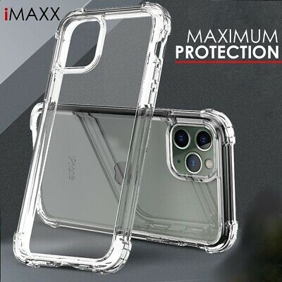 £3.49 • Buy Case For IPhone 13 XR 11 12 Pro Max X 7 8 CLEAR Gel Shockproof Silicone Cover