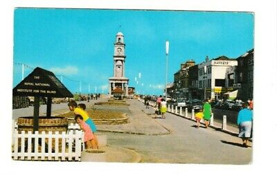 Vintage Postcard Of Tower Parade, Herne Bay • 0.99£