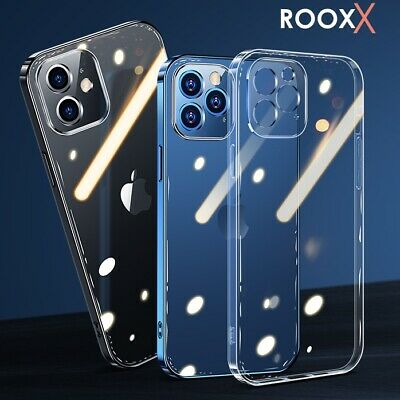 LENS Screen Protector Case For IPhone 11 12 Pro Max Clear Gel Shockproof Cover • 3.99£