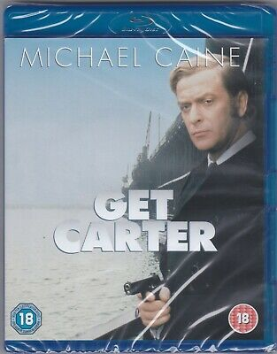 Get Carter (Blu-ray, New & Sealed) A Classic Michael Caine Thriller • 7£