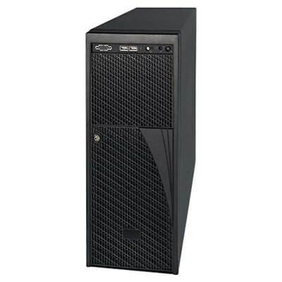 AU875.60 • Buy Intel 4U Pedestal Server Case With Dual 460W Power Supplies - P4000XXSFDR