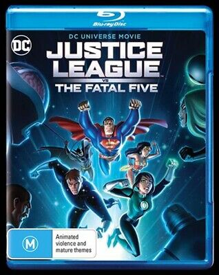 AU12.99 • Buy Justice League Vs The Fatal Five, Blu-ray