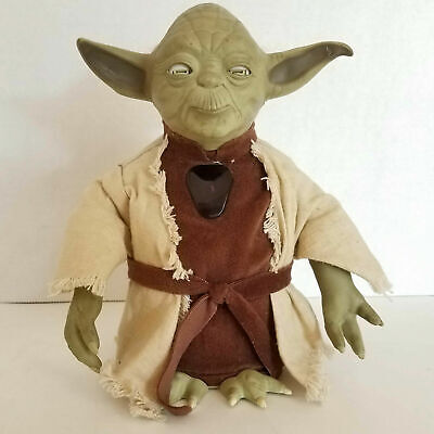 AU35.16 • Buy Star Wars Interactive Yoda And Lightsaber Toy Tiger Electronics 2000 Vintage