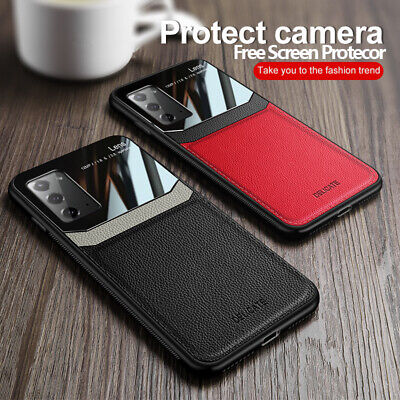 Case For Samsung Galaxy S20 Note 20 S10 S9 Plus Ultra Leather Rubber Slim Cover • 4.99£