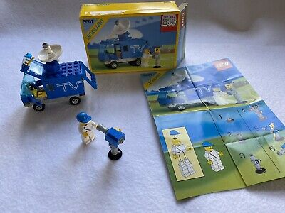 Vintage Lego Mobile TV Studio Van 6661 Complete And With Box And Instructions • 5.50£
