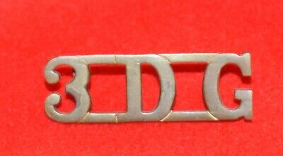 British Army. 3rd Dragoon Guards Genuine OR's Shoulder Title • 10£